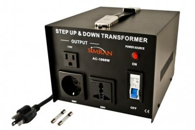 TC-1000W Universal Socket 1000 Watts Step Up Step Down Voltage Transformer