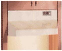 Broan 403601EX ducted range hoods 220 Volt/ 50 Hz