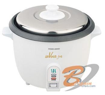 Black & Decker 1 Ltr Rice Cooker RC10 FOR 220 VOLT