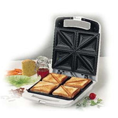 Black Amp Decker 4 Slice Sandwich Maker Ts70 For 220 Volt