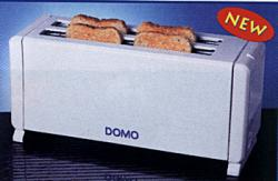Domo DO9205 4 Slice Toaster for 220 Volts