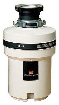 White Westinghouse WDF75VR garbage disposer