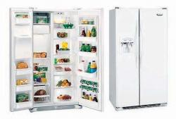 Frigidaire RSRC25V4GW  640/ 22.6 (Liter/ Cu. ft.) AHAM Net Capacity Side by Side Refrigerator 220Volts