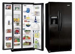 Frigidaire GLSE25V8GB side by side refrigerator 220-240 Volt/ 50-60 Hz