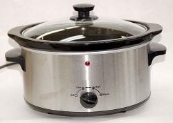 EWI EXC35SS Crock Pot / Slow Cookers for 220-240 Volt 50 Hz