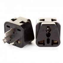 PACK OF 25 - SS416 AUSTRALIAN 3 PRONG UNIVERSAL PLUG ADAPTER