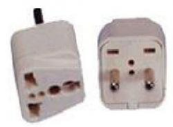 PACK OF 100 - SS41 UNIVERSAL PLUG FOR ASIA OR EUROPE