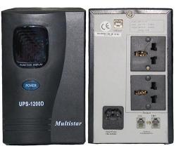 UPS 1200D FOR 220-240 Volt, 50/60 Hz Rated Power-1200VA/720W.