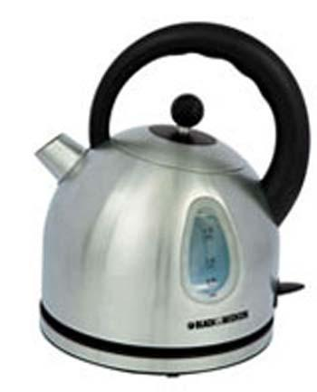 Black And Decker Kitchen Tools Stainless Steel Cordless Kettle