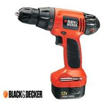 Black and Decker CD1202K 10MM Reversing Cordless Drill/Driver for 220 Volts