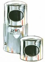 REVEL CCM101CP CHROME WET & DRY GRINDER WITH AN EXTRA GRINDER FOR 110 VOLTS