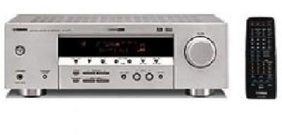 YAMAHA RXV357  (SILVER) PAL NTSC A/V RECEIVER FOR 110-240 VOLTS
