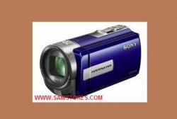 Sony DCRSX45E SD Flash Memory PAL Camcorder Blue