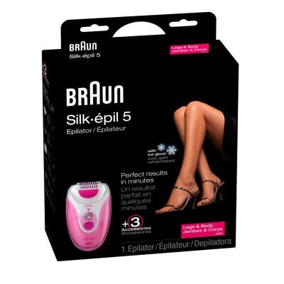 Braun 5280 Silk-Epil X'elle Easy Start Epilator Shaver (110-220 V)