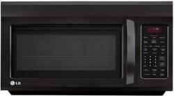 LG LMV1813SB 1.8 cu. ft. Over The Range Microwave - Smooth Black Factory Refurbished (FOR USA)
