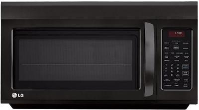 LG LMV1813SB 1.8 cu. ft. Over The Range Microwave - Smooth Black Factory Refurbished (FOR USA)