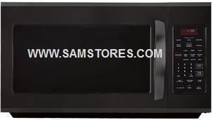 LG LMV2015SB 2.0 cu. ft. Over The Range Microwave Smooth Black Factory refurbished (ONLY FOR USA )