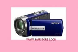 Sony DCRSX65 PAL Camcorder Blue