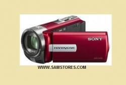 Sony DCRSX65 PAL Camcorder (Red)