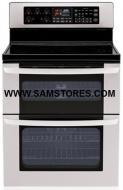 Samsung FTQ387LWGX - Electric Freestanding Range Stainless Backguard FACTORY REFURBISHED (FOR USA
