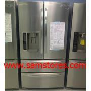 LG LMX28987ST 27.6 Cu.Ft. French 4-Door Refrigerator with Auto-opening Freezer Door Finish : Stainless Steel  : Factory Refurbished(for usa)