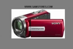Sony DCRSX45E SD Flash Memory PAL Camcorder Red