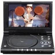 Philips PET-825 portable code & region free DVD player 110-220 volts
