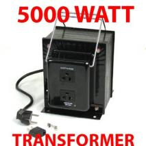 TC-5000B 5000 WATTS STEP UP STEP DOWN VOLTAGE TRANSFORMER