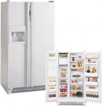 Amana 28CFT SRDE528VW Side-by-Side Refrigerator for 220/240 Volts