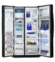 GE GSE30VHBT-SS 30 Cu.ft. Side by Side Stainless Steel Refrigerator FOR 220 VOLTS