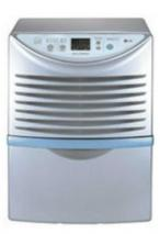LG LHD65EL 65 PINT DEHUMIDIFIER AUTO SHUT-OFF EXTERNAL DRAIN FACTORY REFURBISHED (FOR USA ONLY)