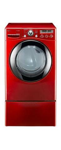 Lg Dlex2450r 7 3 Cu Ft Steam Electric Dryer Red Factory