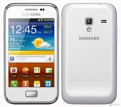 SAMSUNG S7500 GALAXY ACE PLUS 3G ANDROID UNLOCKED PHONE: White