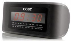Coby CODV22 110-240 Volt Alarm Clock Radio