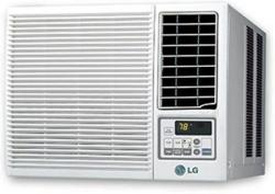 LG LWHD1807HR 18,000 BTU WINDOW AIR CONDITIONER WITH HEATING OPTION AND REMOTE FACTORY REFURBISHED (FOR USA)
