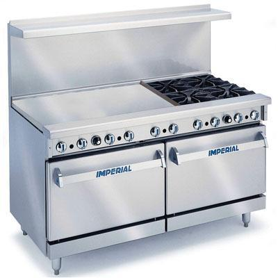 IMPERIAL IR-4-G36-E 240Volts 50Hz COMERCIAL GAS RANGES