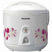 Panasonic SR-TEG10 5-Cup Floral Deluxe Rice Cooker 220 Volt