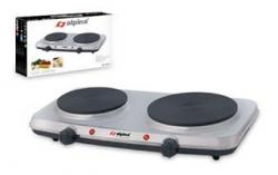 ALPINA SF-6004 DOUBLE BURNER HOT PLATE 220V