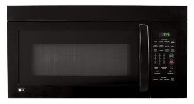 LG LMV1680SB 1.6 cu. ft. Over-the-Range Microwave Oven, Black FACTORY REFURBISHED (FOR USA )