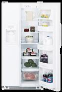 GE GSG201E 20 CF. Side-by-Side Refrigerator W/Ice and Water 220 volt