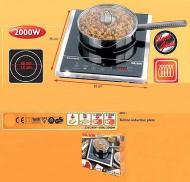 Nikai NKTOE5N2 Double Electric Hot Plate - 220-240 Volt 50 Hz NOT FOR USA