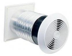 BROAN BR512MEX Through-Wall Utility Fan 240 Volt 50-60 Hz