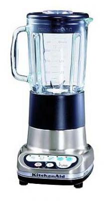KitchenAid 5KSB52ENK Ultra Power Blender - Brush Nickel 220V/50Hz