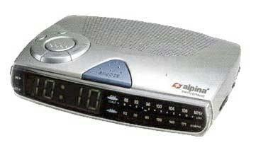 ALPINA SF106 alarm clock
