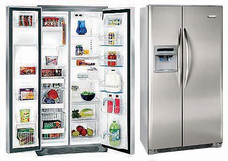 Frigidaire GPSE28V9GS Side By Side Refrigerator 220 Volts
