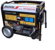 Multistar MTG8000E Gasoline Generator 220 Volt