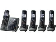PANASONIC KX-TG6545B CORDLESS PHONE FOR 110-240 VOLTS