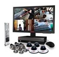 AvertX AVXKIT5BSC16106 16-Channel Surveillance System with 4 Megapixel NVR, 6TB Hard Drive