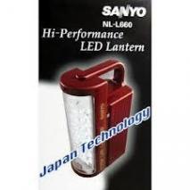 SANYO NL-L660 Emergency LED Light Lantern For 220 Volt.