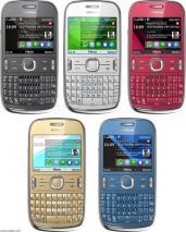 Nokia 302 Asha Unlocked WIFI Quadband GSM Phone: GREY